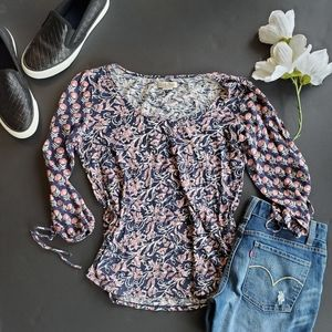 Lucky brand Paisley Print Shirt